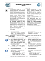 INSTRUCTION MANUAL SA/CL - STI srl - Levate