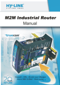 HY-LINE truecon Router Manual HY-LINE Systems GmbH
