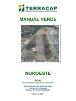 MANUAL VERDE NOROESTE - Terracap - Governo do Distrito