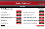 Service Manual Index - Lincoln Electric