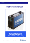 Instruction manual - Wilhelmsen