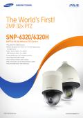 Samsung SNP-6320 2MP Indoor Full HD 32x Network PTZ - Use-IP