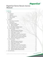 PaperCut Xerox Embedded Manual