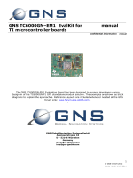 GNS TC6000GN–EM1 EvalKit for TI microcontroller boards manual