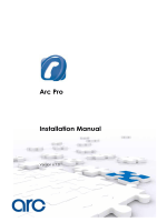 Arc Pro Installation Manual
