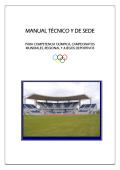 MANUAL TÉCNICO Y DE SEDE - ISF