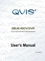LB DVR Users manual - Qvis