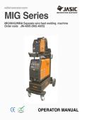 OPERATOR MANUAL - Jasic Welding Inverters