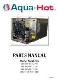 PARTS MANUAL - Aqua-Hot Heating Systems, Inc.