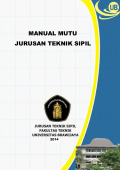 MANUAL MUTU JURUSAN TEKNIK SIPIL - Teknik Sipil Universitas