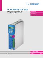POSIDRIVE® FDS 5000 Projecting manual - STÖBER