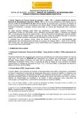 Departamento Regional da Paraíba EDITAL DE SELEÇÃO - 2014