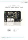 phyBOARD-Wega AM335x Hardware Manual - Phytec