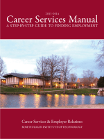 Career Services Manual - Rose-Hulman