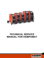 TECHNICAL SERVICE MANUAL FOR KEMPOMAT - Rapid Welding