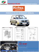 PERODUA KELISA WORKSHOP MANUAL - e-bookmanual