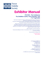 Exhibitor Manual - Tissue Viability Society
