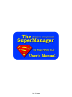 SuperManager Users Manual - The SuperManager