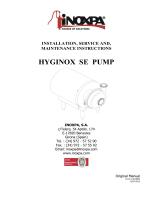Manual HYGINOX SE (EN) - Inoxpa