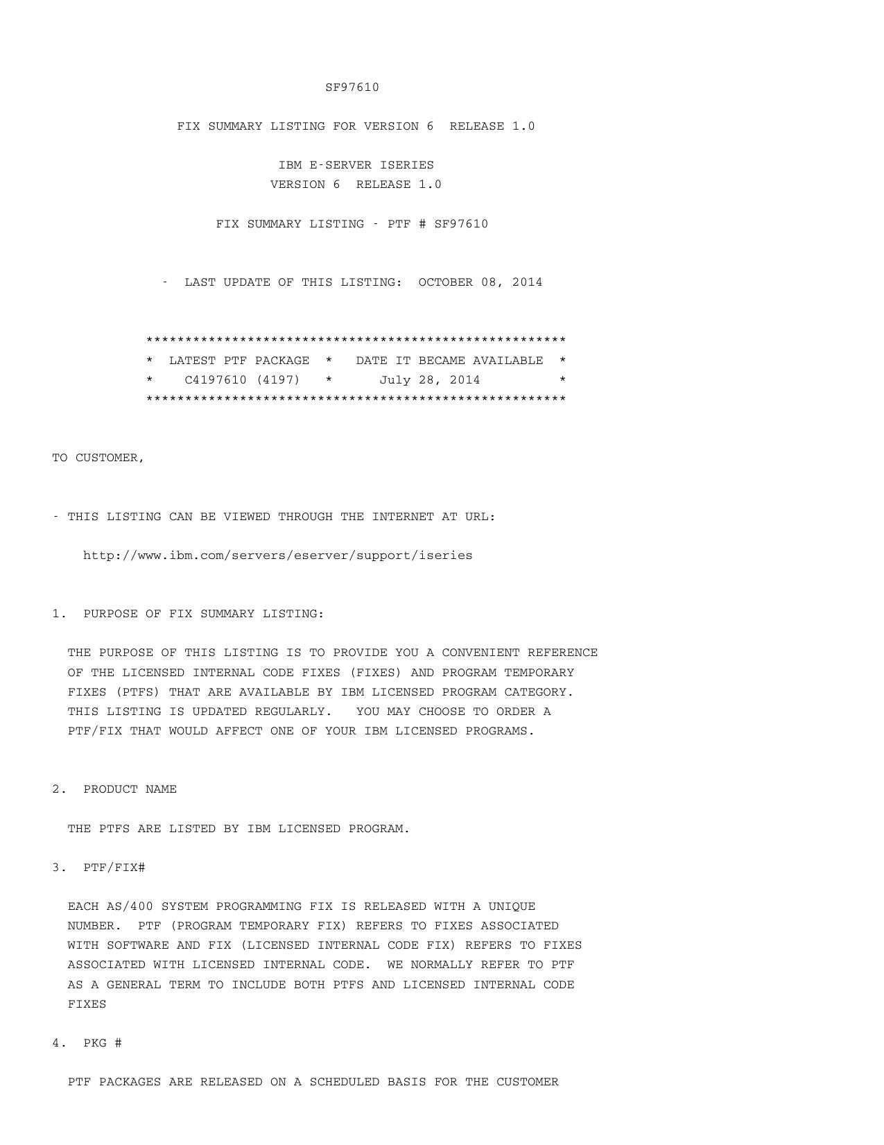 SF97610 pdf - IBM