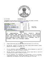 NOTICE In supersession of this Courts Notice No - Delhi High Court