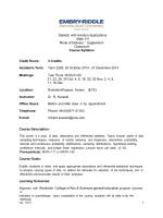 Math 211 - Worldwide - Embry-Riddle Aeronautical University