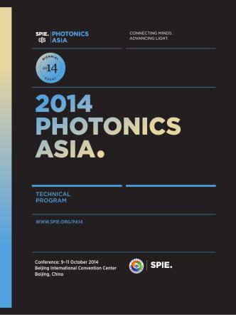 2014 Final Technical Program - SPIE