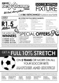 soccer fixture - BetXchange