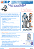 Robot humanoïde NAO - ERM Automatismes Industriels
