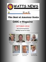 OARC e-Magazine - Ogden Amateur Radio Club