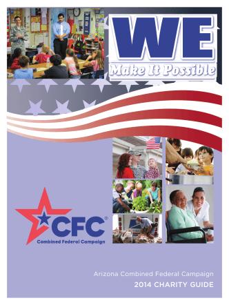 2014 CHARITY GUIDE - CFC AZ