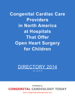 Directory - Congenital Cardiology Today