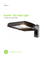 GE LED Evolve Scalable Area Light EASB— Data - GE Lighting