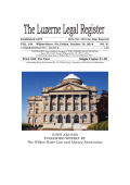 USPS 322-840 - Wilkes-Barre Law and Library Association