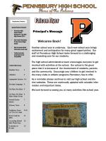 Falcon Flyer (pdf) - Pennsbury School District