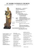 ST. MARK CATHOLIC CHURCH - E-churchbulletins.com