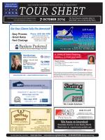 SAMCAR REALTORS Tour Sheet - San Mateo County Association