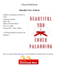Download Beautiful You: A Novel pdf - Chuck Palahniuk - xpgpdf
