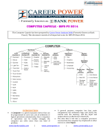 to download the Computer Capsule for IBPS PO 2014. - Bank Power