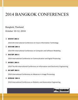 Click - 2014 International Conference on Communication and Signal