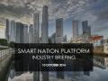 smart nation platform industry briefing - iDA