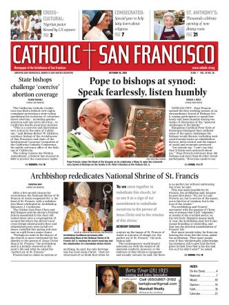 Current Issue (pdf) - Catholic San Francisco