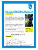 Maidstone Mobility Team Newsletter - Guide Dogs for the Blind