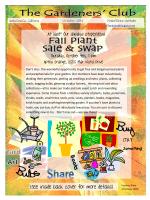 2014 October Newsletter - The Gardeners Club