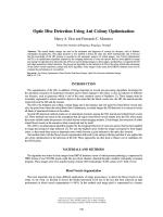 Optic Disc Detection Using Ant Colony Optimization - IPB