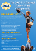 The 2015 UCA National Partner Stunt Championship - Varsity.com