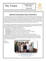 Our Latest Newsletter - Community Church at Tellico Village
