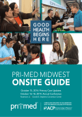 Download the onsite guide to prepare for the conference - Pri-Med