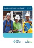 Health and Safety Handbook 2015 - Duke Energy