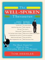 Well-spoken Thesaurus
